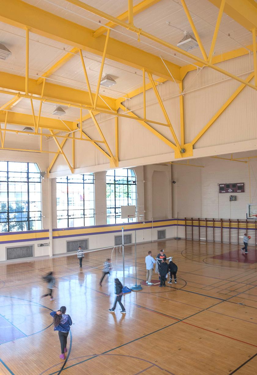 Gym restoration