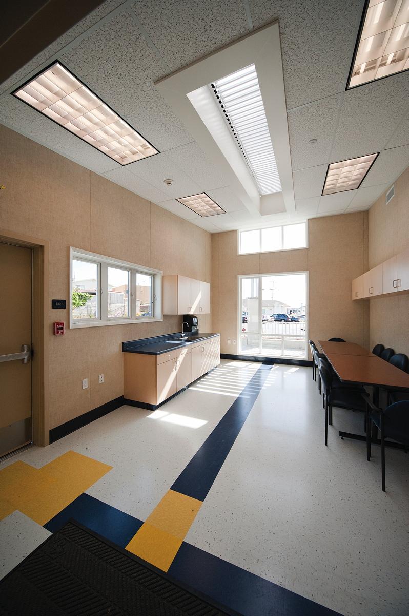 Staff work area