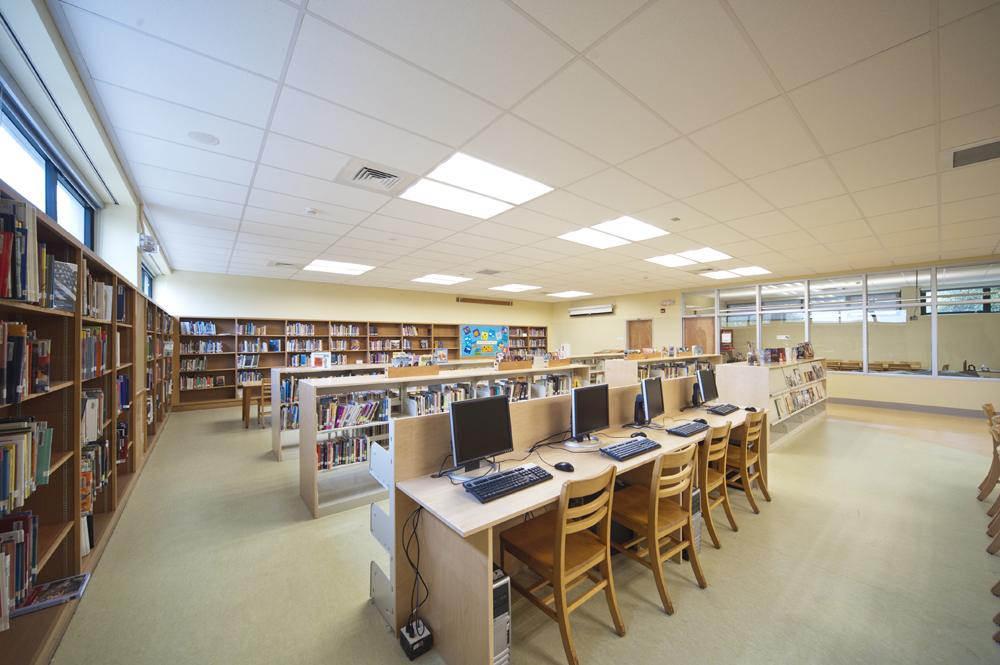 New Library / media center