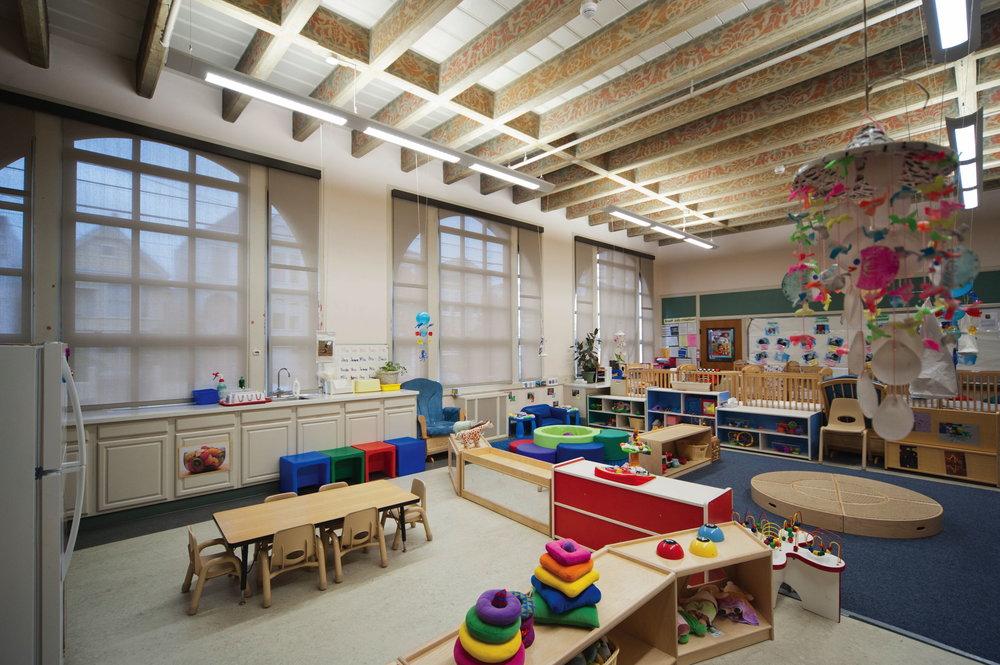Preschool childcare area