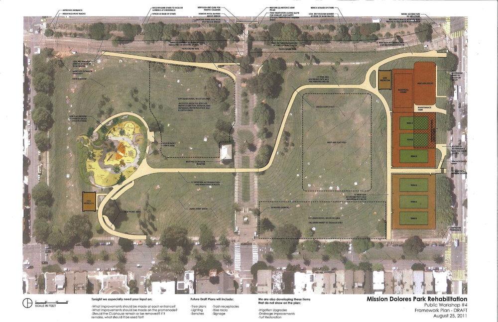 Dolores Park plan