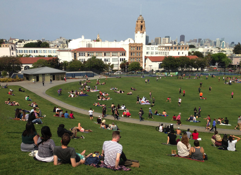 Dolores Park Master Plan and Reconstruction