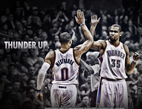 THUNDER UP!!!!! This team getting back on track! Do they have what it takes to be the best in the west?? We shall see! @montrealmarc @sportingphil #hoopslounge #ballislife #nbaisback