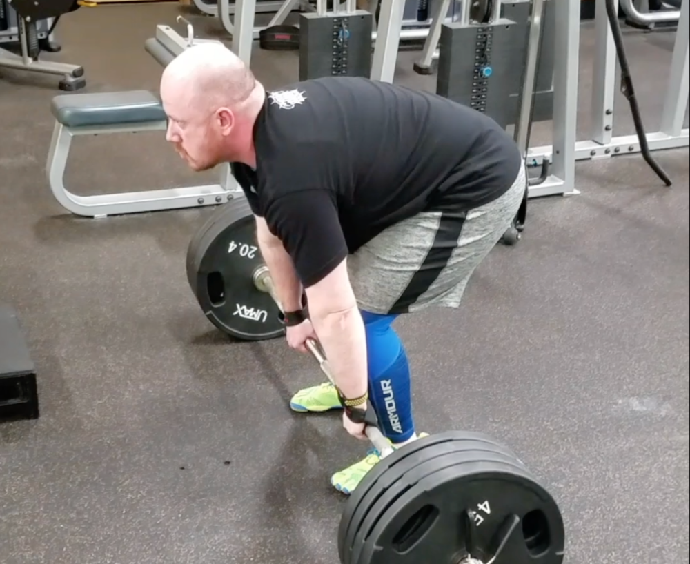 405 lb PR in Early March