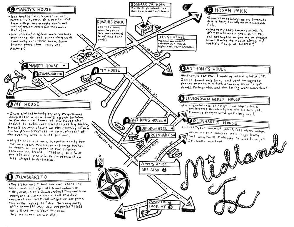 Midland, TX Map