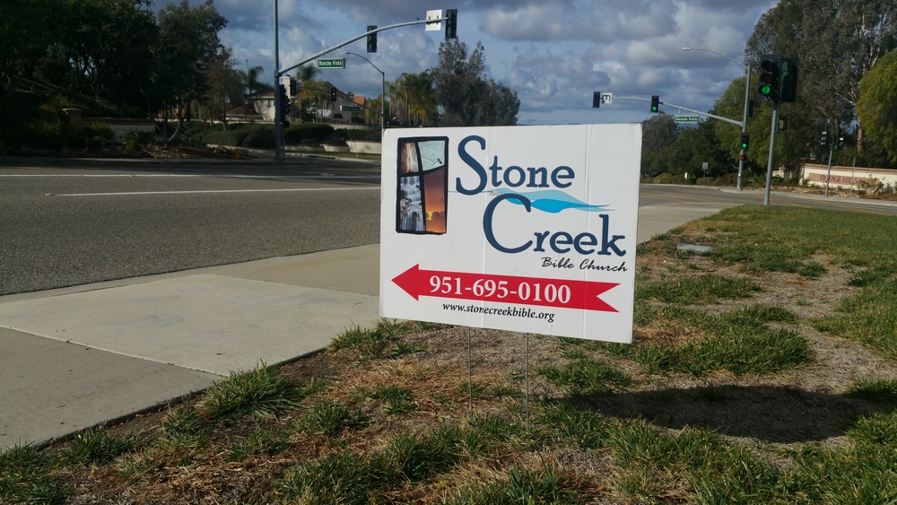 Stone creek Bible church, Temecula, CA