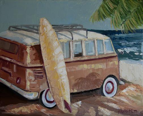 Bus to Beach