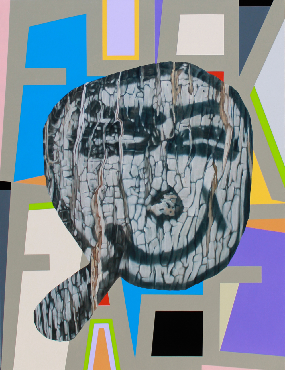 Fuckface, with Jon Campbell, oil and enamel on canvas, 2015-16