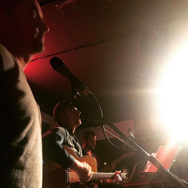 Great time last night boyz... @lennondanielsmusic @guitarheromatteo @john_shakey
