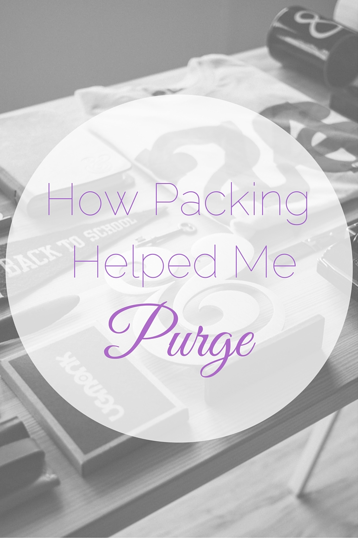 How Packing Helped Me Purge | Tall Girl Meets World