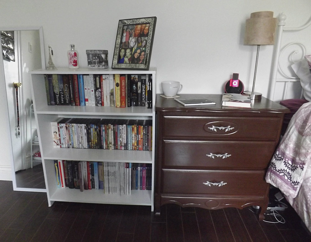 Bookshelf & Dresser | Tall Girl Meets World