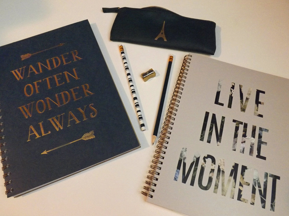 Chapters Notebooks & Pencil Case