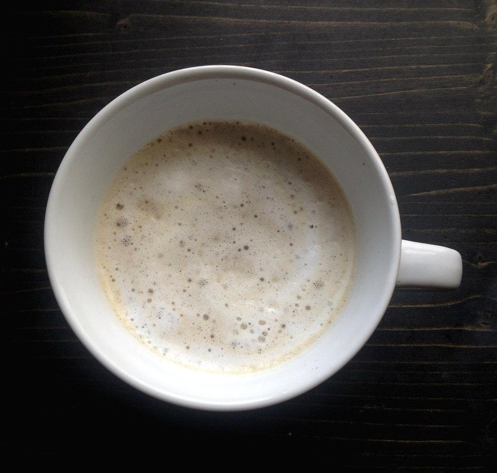 Easy Homemade Latte | Tall Girl Meets World