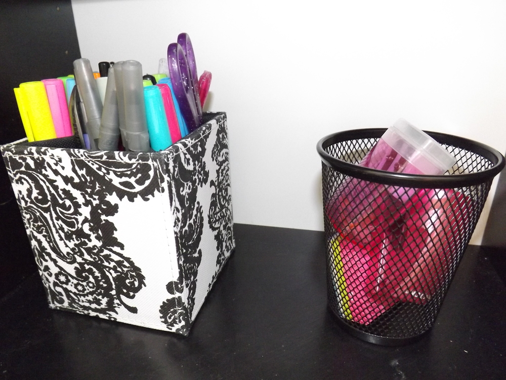 Pen Organizer | Tall Girl Meets World