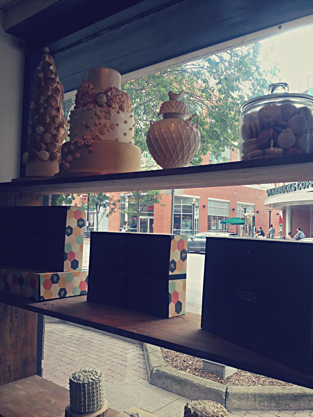 Honey Bake Shop Front Window | Tall Girl Meets World
