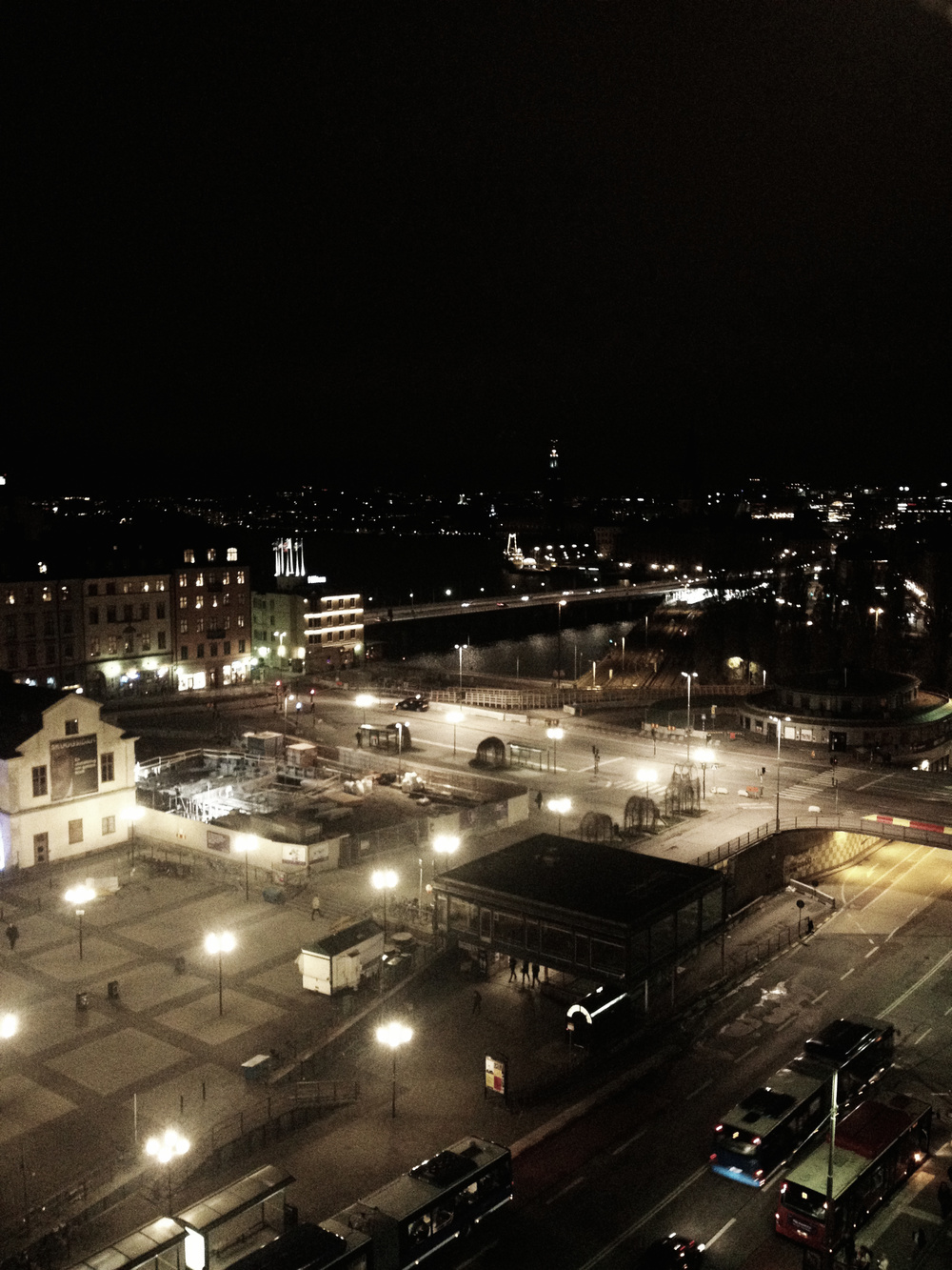 Stockholm at Night | Tall Girl Meets World