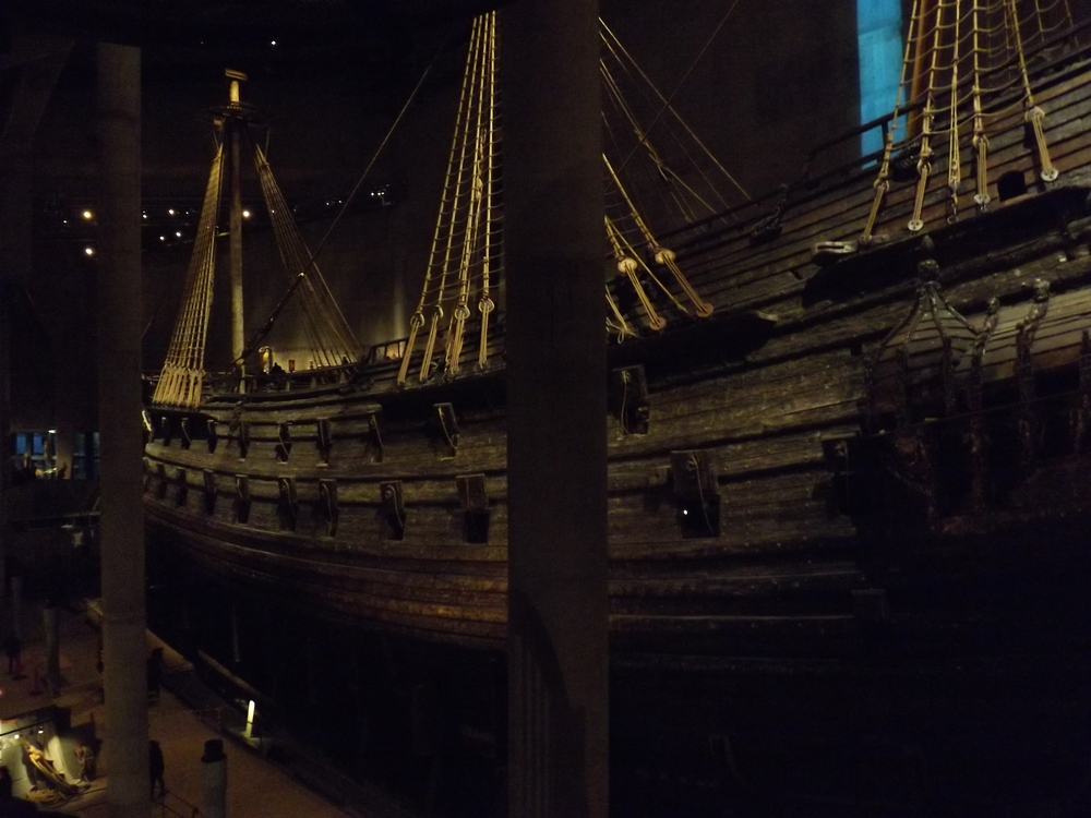 Vasa Ship from Front | Tall Girl Meets World