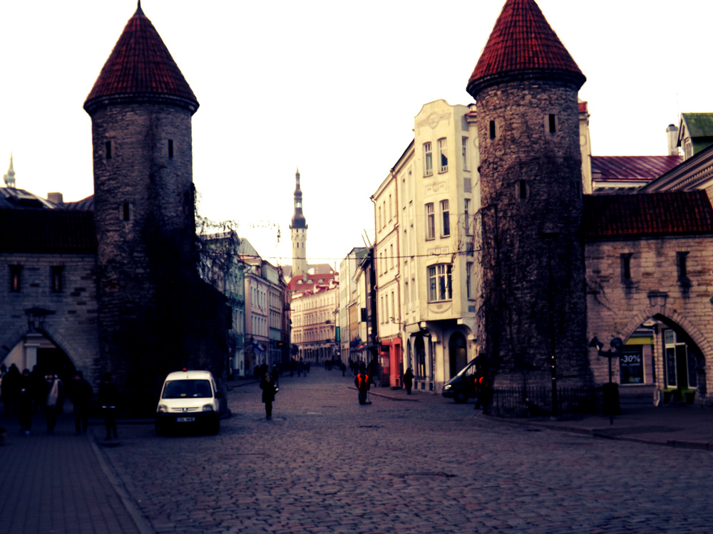Tallinn Buildings | Tall Girl Meets World