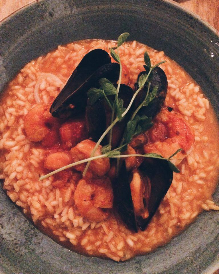 Cibo Seafood Risotto | Tall Girl Meets World