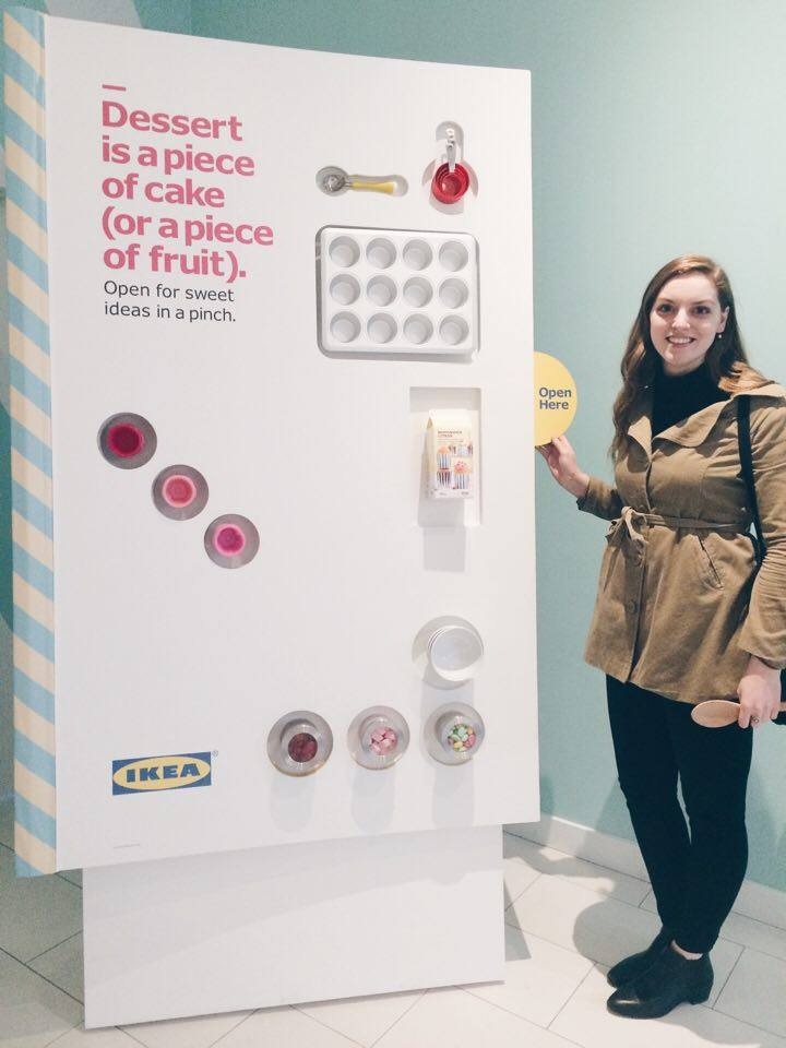 Life-Sized IKEA Cookbook | Tall Girl Meets World