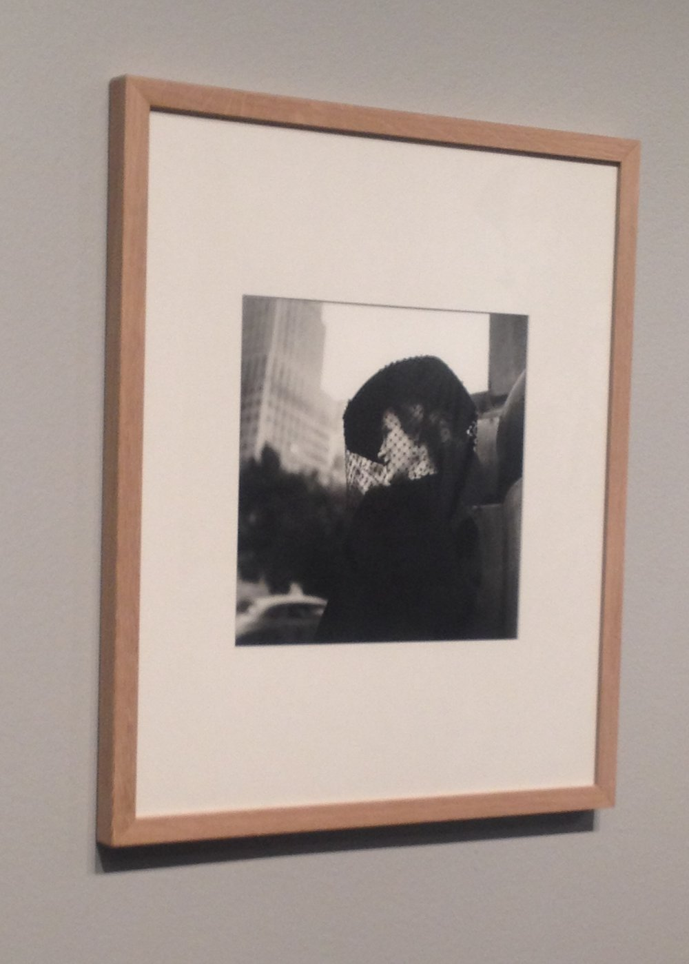 Vivian Maier photograph in Gothenburg museum | Tall Girl Meets World