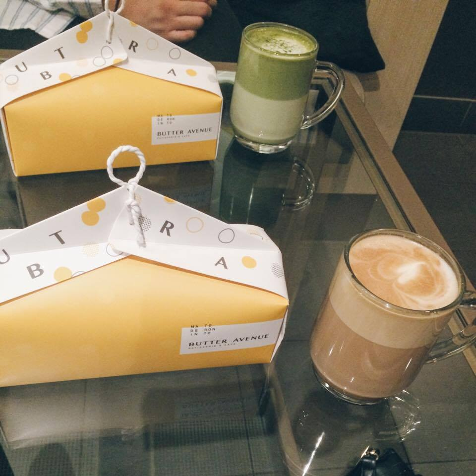 Box of Macarons and Lattes | Tall Girl Meets World