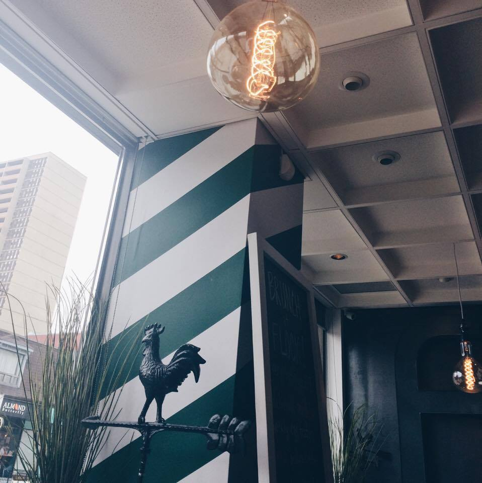 Striped Decor at Flock | Tall Girl Meets World