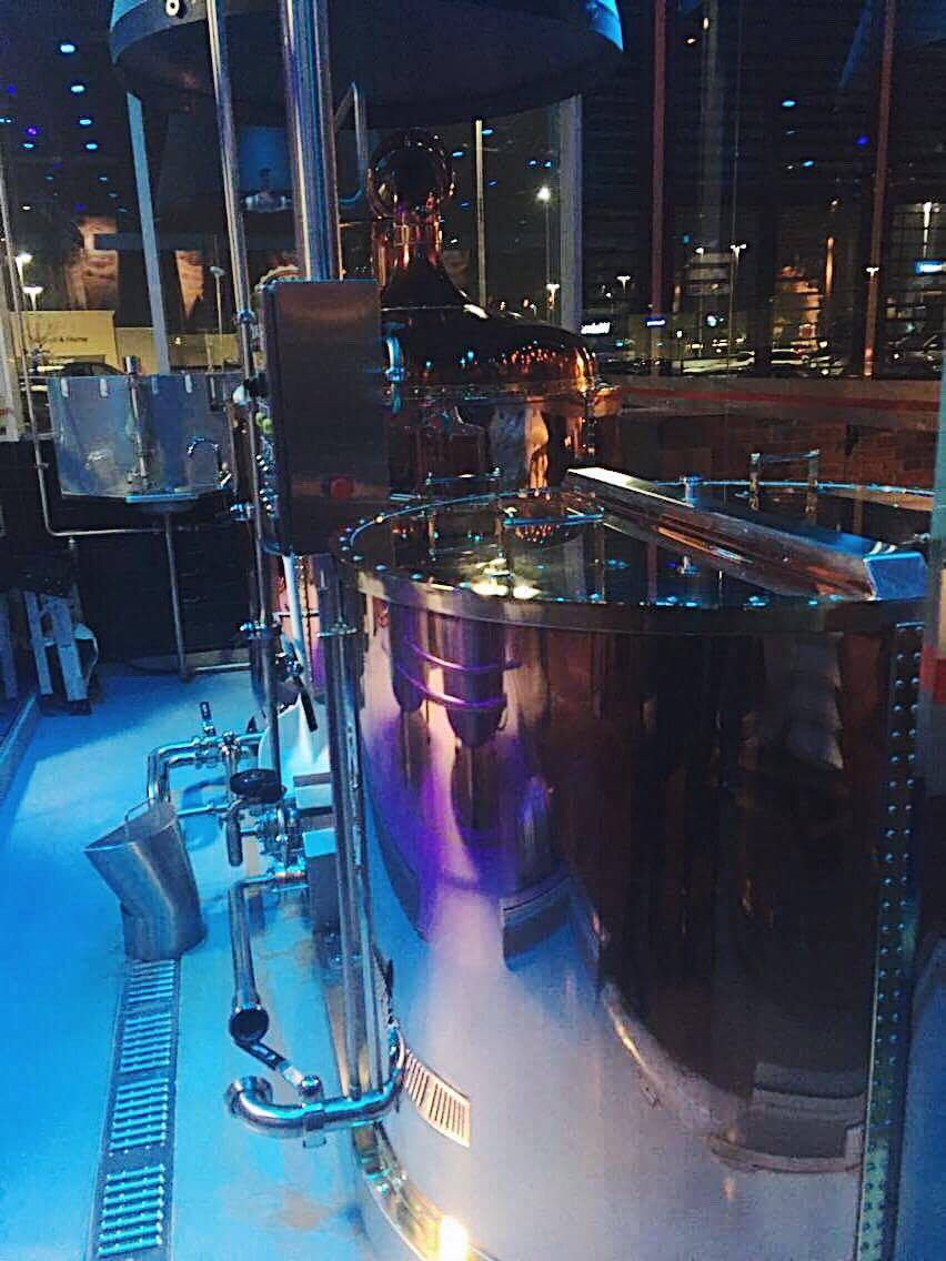 Brewing Tanks at 3 Brewers   Tall Girl Meets World