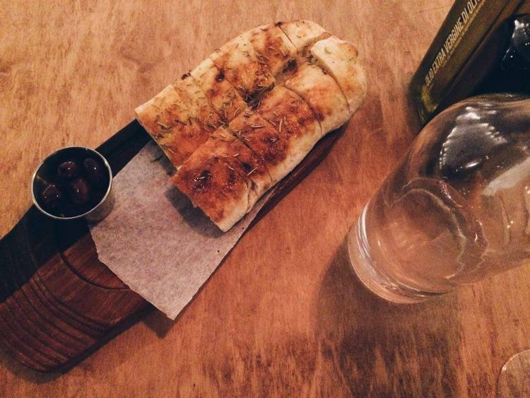 Cibo Bread + Olives   Tall Girl Meets World