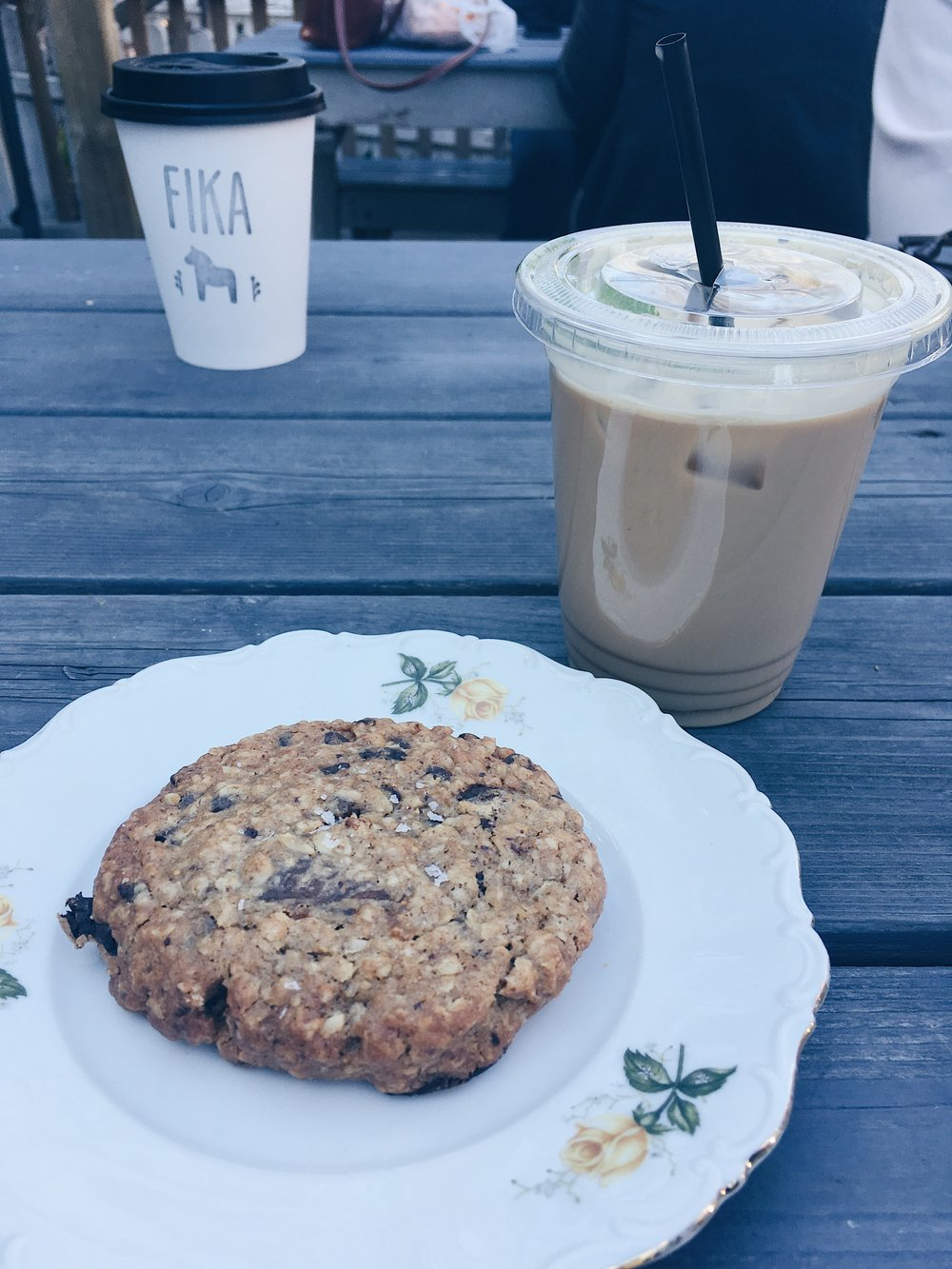 Fika Coffee + Cookie | Tall Girl Meets World
