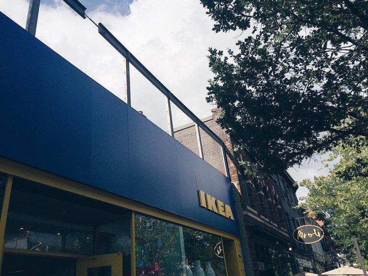 IKEA Pop Up Cafe | Tall Girl Meets World