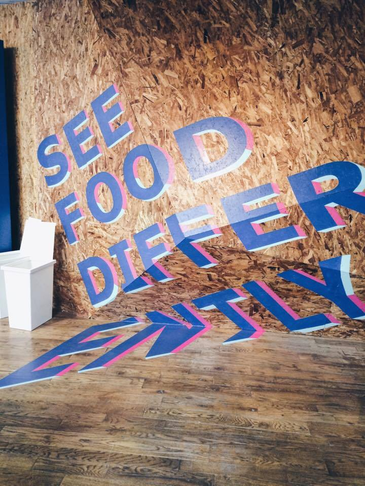See Food Differently Sign | Tall Girl Meets World