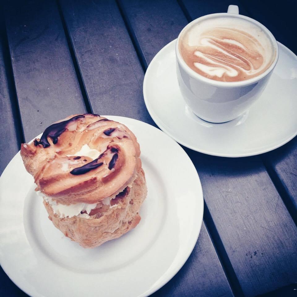 Fika Dessert + Latte | Tall Girl Meets World
