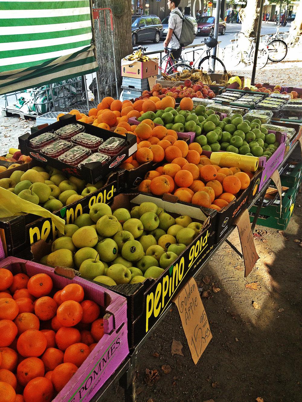 Fresh Produce at the Växjö Farmers' Market | Tall Girl Meets World
