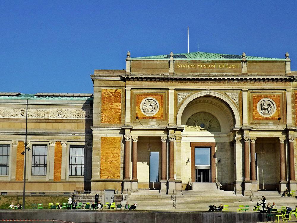 National Gallery of Denmark   Tall Girl Meets World