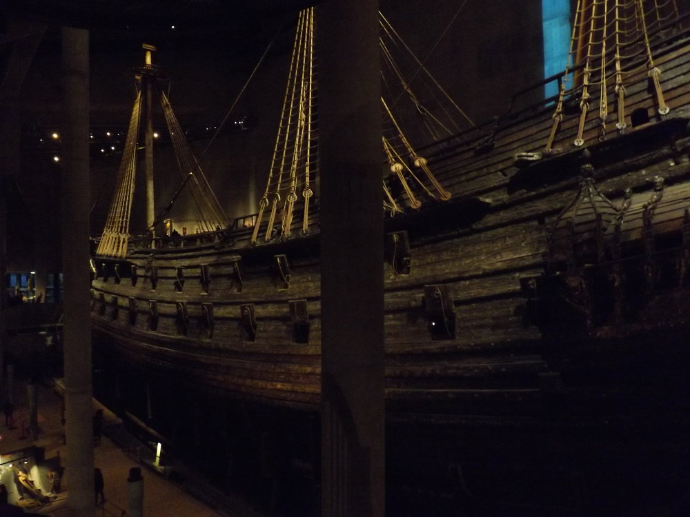 Side of Boat in Vasa Museum | Tall Girl Meets World
