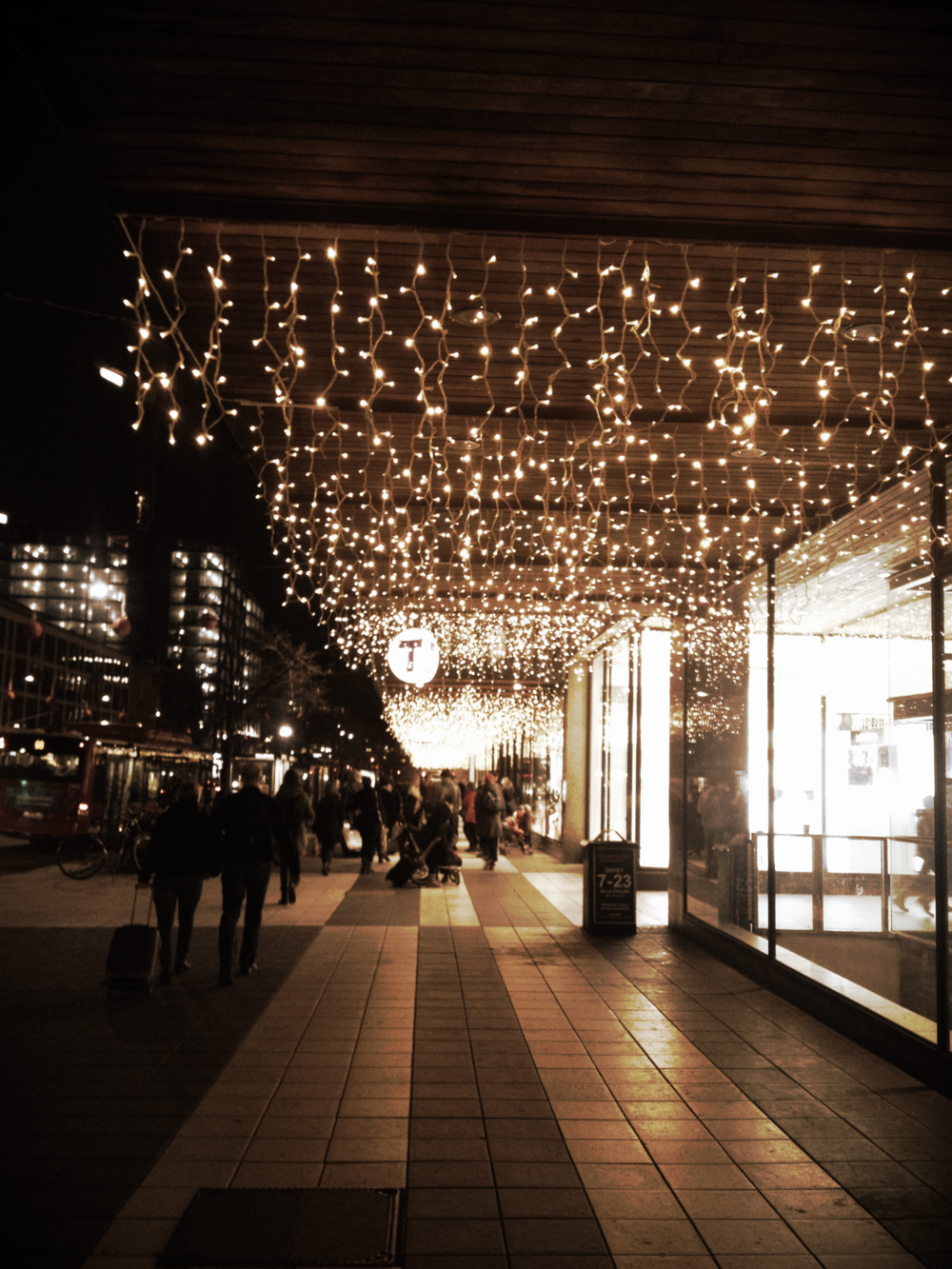 Christmas Lights in Stockholm | Tall Girl Meets World