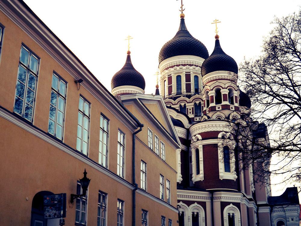 Eastern European Influence Building | Tall Girl Meets World