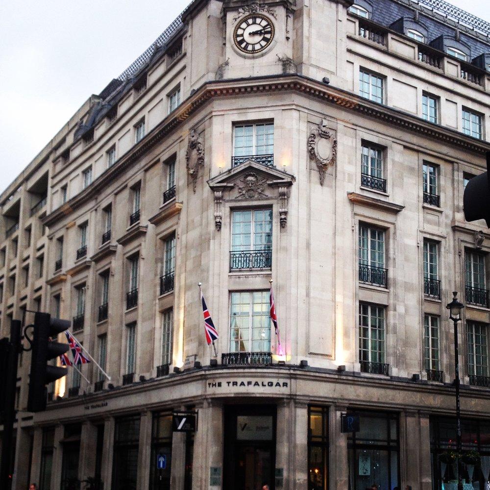 Trafalgar Square Building | Tall Girl Meets World