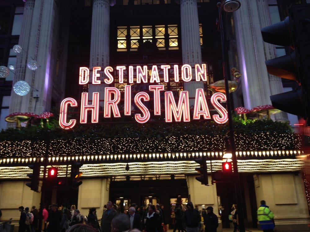 Destination Christmas Sign | Tall Girl Meets World