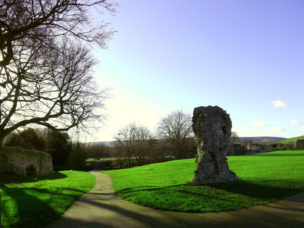 Lewes Ruins | Tall Girl Meets World