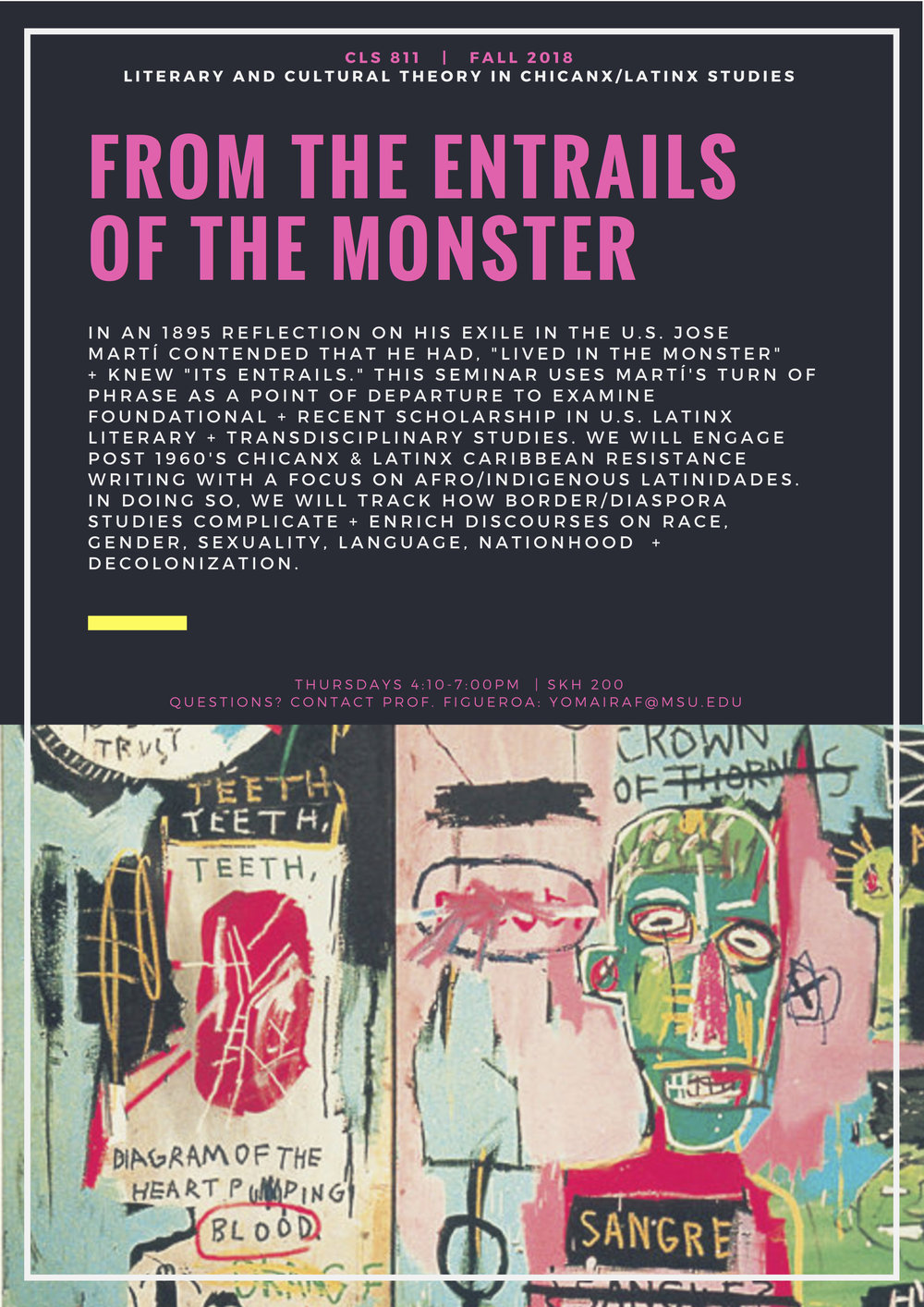 CLS 811 FALL 2018 The Monster.jpg