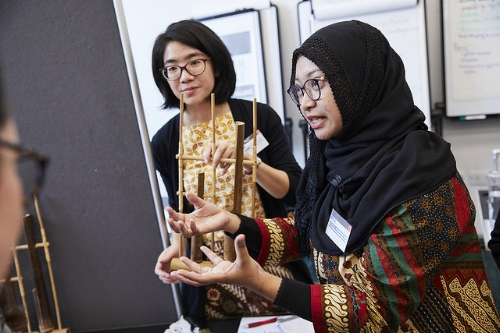 I really enjoyed learning from Team Indonesia. I could relate to the Batik fabric they exhibited because its used in Nigeria too!