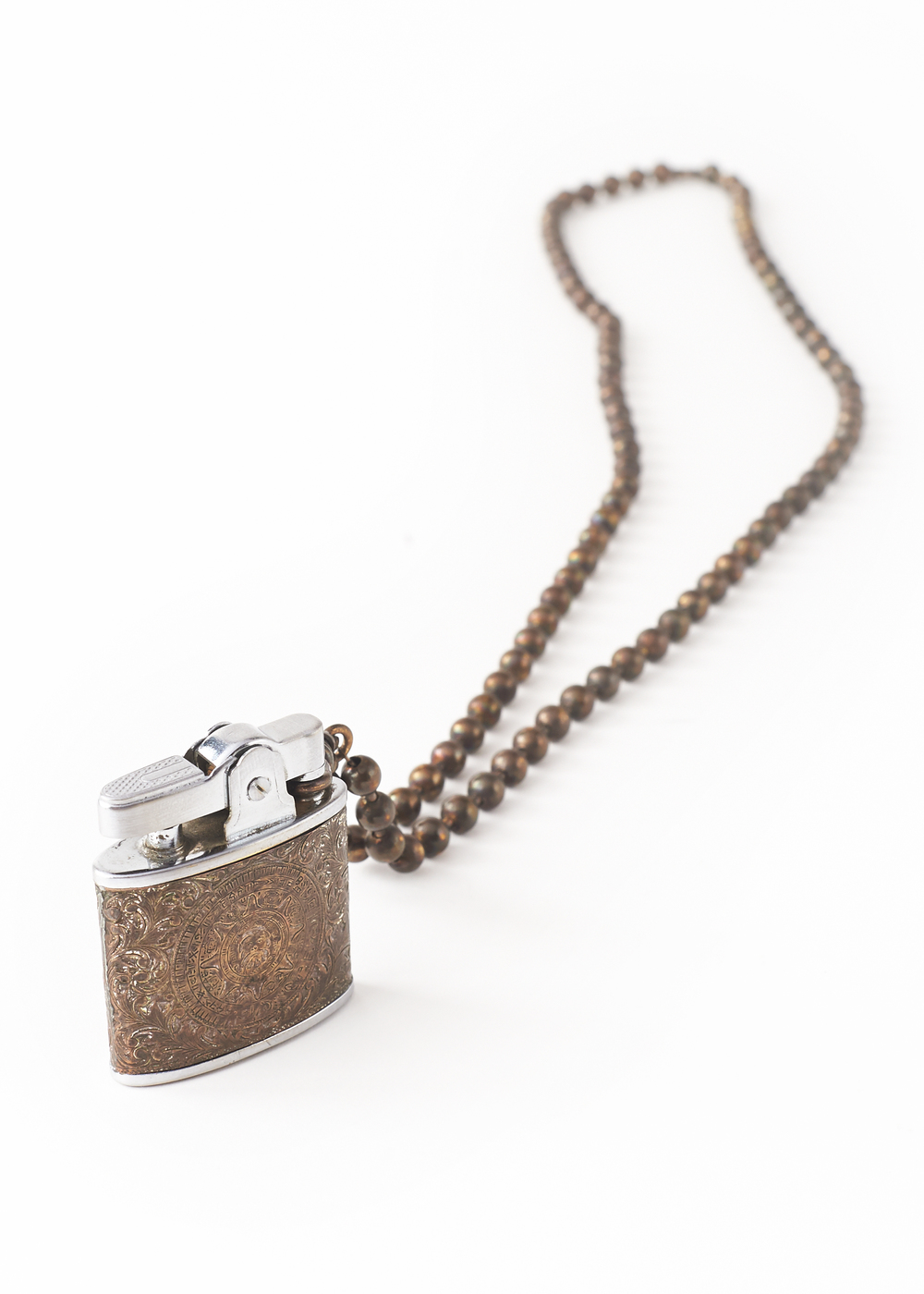 Vintage Lighter Necklace
