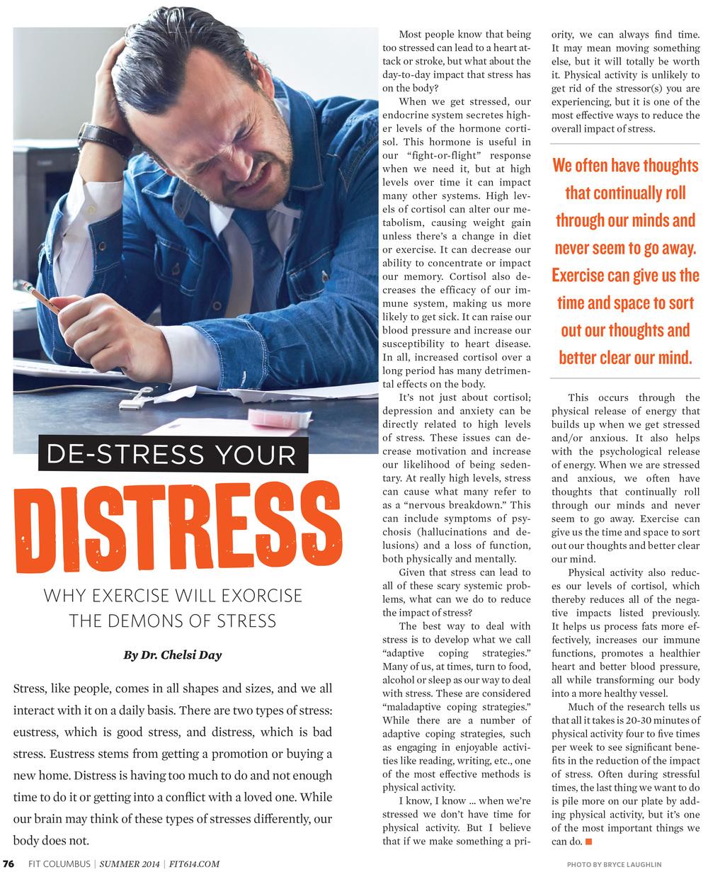 Stress Editorial