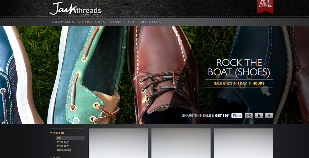Boat shoes Campaign