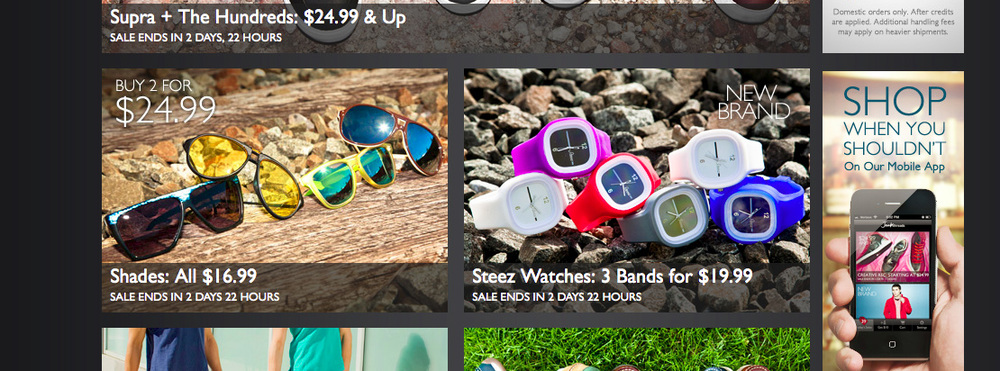 Shades and Steez Watches
