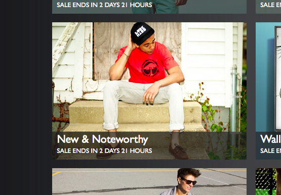 New & Noteworthy Campaign