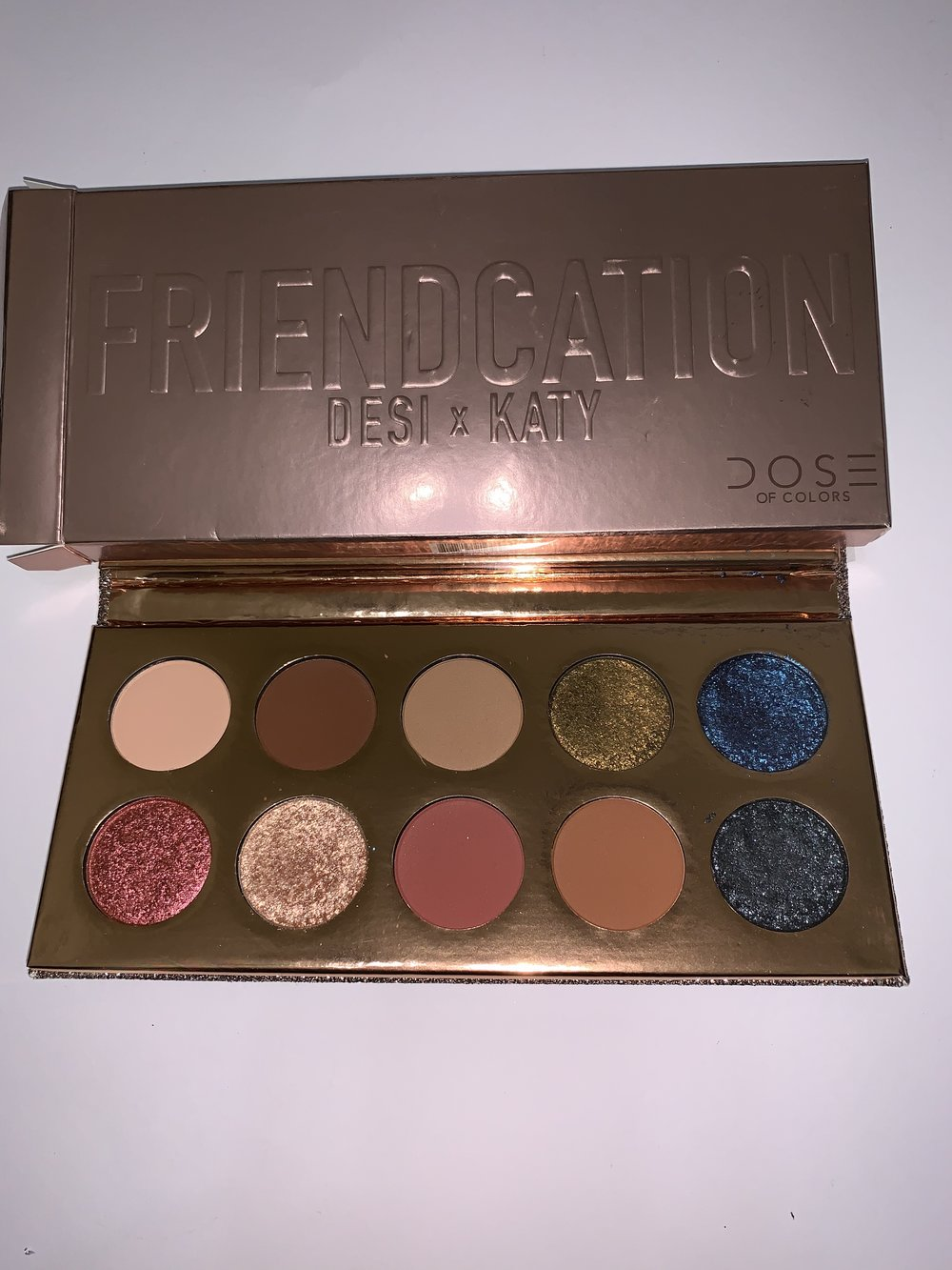 Frendation Palette- swatched-$45