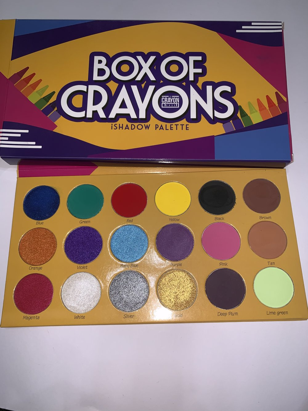 The Crayon Case Palette-swatched-$20